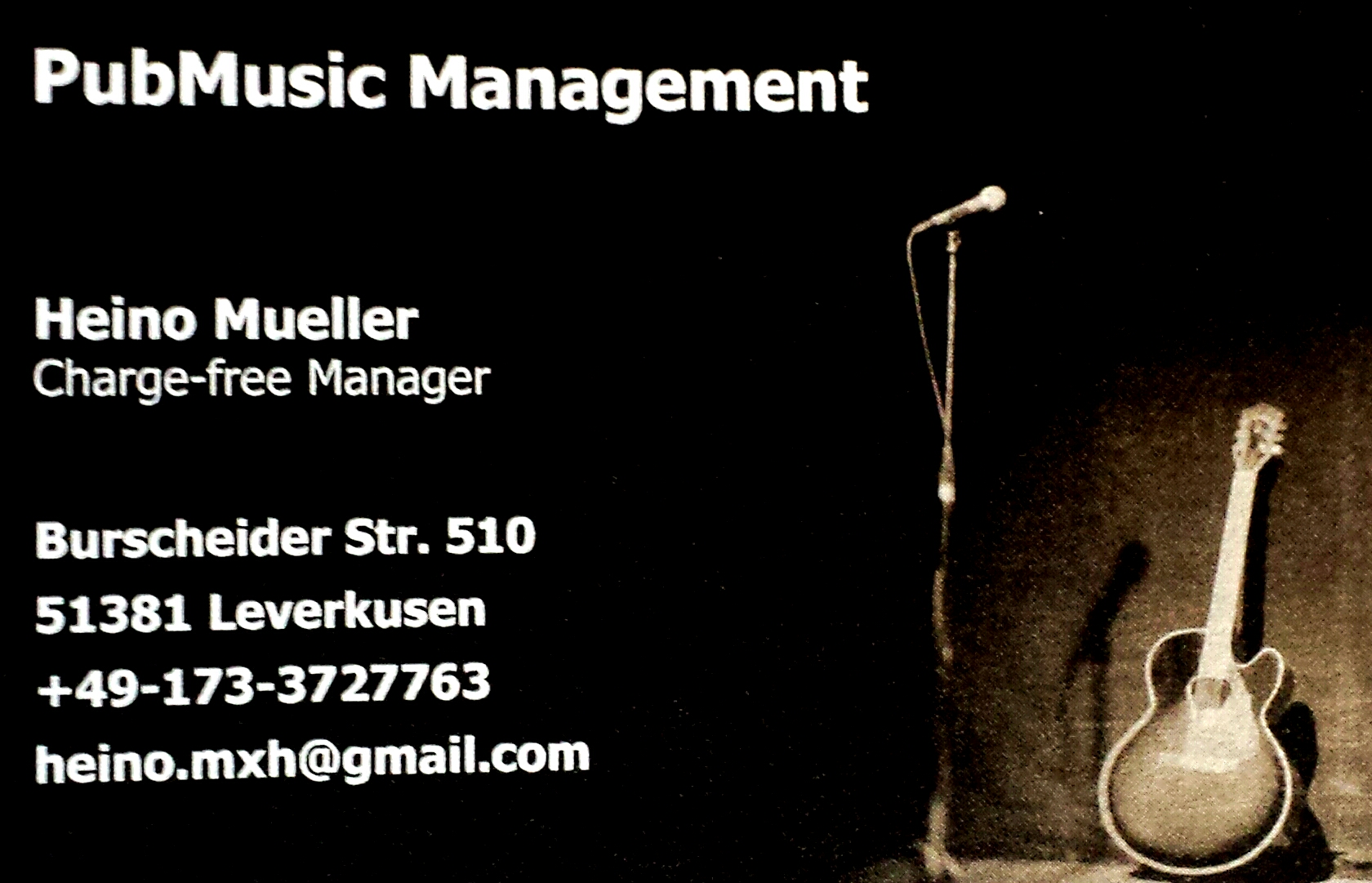 Logo - PubMusic Management